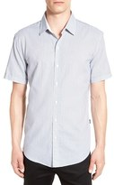 BOSS 'Robb' Trim Fit Print Short Sleeve Sport Shirt