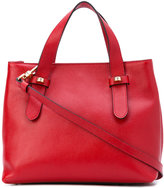 Borbonese top handle tote - women - Leather/Polyester - One Size