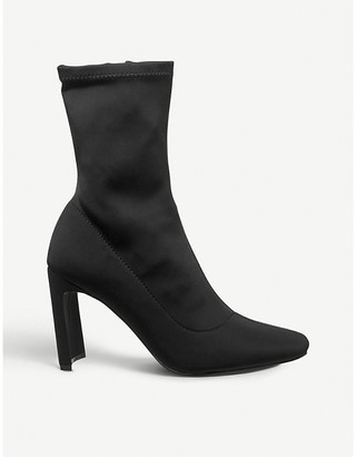 Office Amore block-heeled sock boots