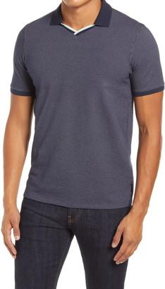 Ted Baker Kondenz Dot V-Neck Short Sleeve Polo