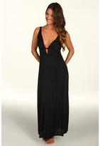 Natori Aphrodite Gown (Black) - Apparel