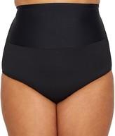 Leilani Plus Size Waikiki Solids Bikini Bottom