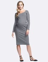 Soon Krish Long Sleeve Maternity Dress