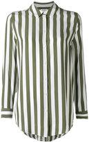 Equipment vertical striped shirt - women - Silk - L