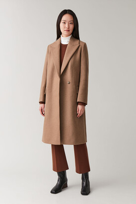 Cos Classic Long Wool Coat