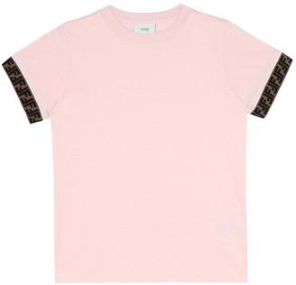 Fendi Kids Cotton FF T-shirt