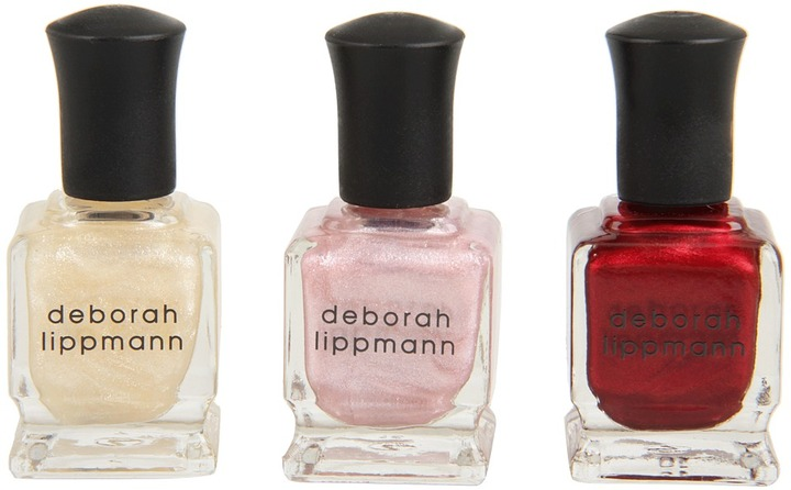 Deborah Lippmann Juicy Couture Limited Edition Shimmer and Shine Nail Polish Set (Multi) - Beauty