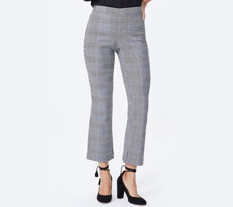 NYDJ Bootcut Pull-On Cropped Pants