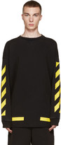 Off-White Black & Yellow Arrows Pullover