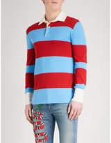 Gucci Thanatos Wool-knitted Polo Shirt