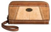 Bolo Women's Wallet - Saddle/Stone