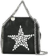 Stella McCartney crystal star mini Falabella tote - women - Polyester - One Size