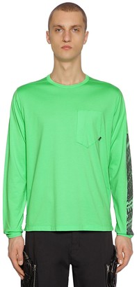 Stone Island Shadow Project LONG SLEEVE COTTON JERSEY T-SHIRT