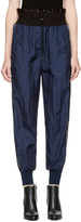 3.1 Phillip Lim Navy Smocked Jogger Lounge Pants