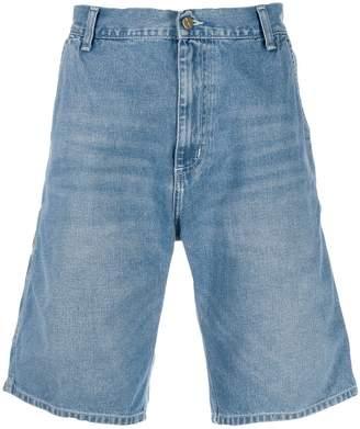 Carhartt WIP knee-high denim shorts