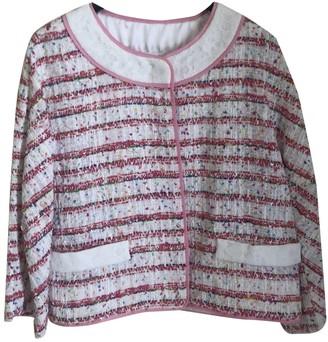 Moschino Pink Tweed Jackets
