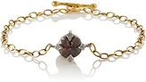 Cathy Waterman Women's Rustic Diamond Charm Bracelet