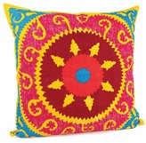 Karma Living Suzani Pillow   24 X 24   Multi