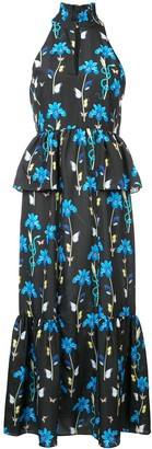 Borgo de Nor Jasmine floral long dress
