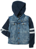 Urban Republic Boys 8-20) Hooded Denim Jacket