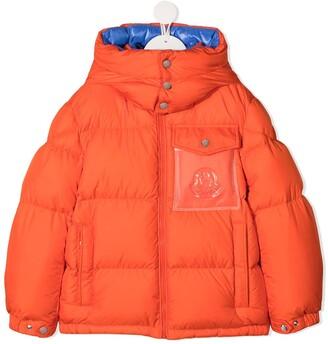 Moncler Enfant Hooded Down Jacket