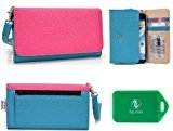 Motorola Moto G4 Plus Wristlet wallet phone holder with Card slots and Coin Pocket
