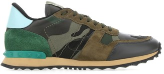 Valentino Camouflage Rockrunner Sneakers