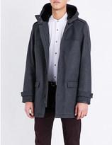 The Kooples Hooded wool coat