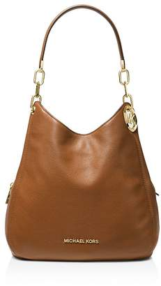 MICHAEL Michael Kors Lillie Large Leather Shoulder Tote
