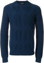 Emporio Armani chunky knit jumper
