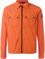 Belstaff zipped shirt jacket - men - Polyester - XL