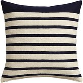 "CB2 Division Navy 20"" Pillow"