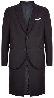 Neil Barrett Layered Overcoat