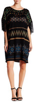 Rachel Zoe Elias Fringe Sleeve Dress