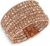 Kenneth Cole New York Rose Gold-Tone Cluster Multi-Row Bracelet
