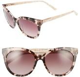 Ted Baker Women's 56Mm Cat Eye Sunglasses - Tortoise