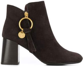 See by Chloe high heel ankle boots