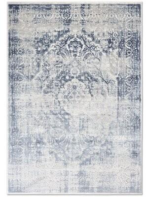 "Nicole Miller Kenmare Power Loom Blue Rug Rug Size: Rectangle 7'9"" x 10'2"""
