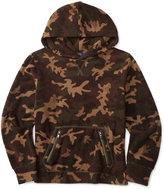 Ralph Lauren Little Boys' Camouflage-Print Fleece Hoodie
