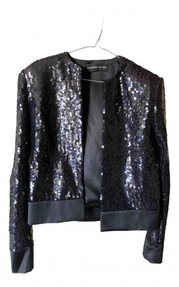 Alexandre Vauthier Black Glitter Jackets