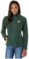 Columbia College Michigan State Spartans CLG Give and Gotm II Full Zip Fleece Jacket (Spruce) Women's Fleece