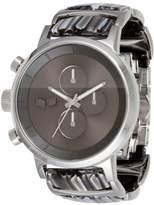 "Vestal Silver & Acetate Chrono Watch ""Metronome Minimalist"""