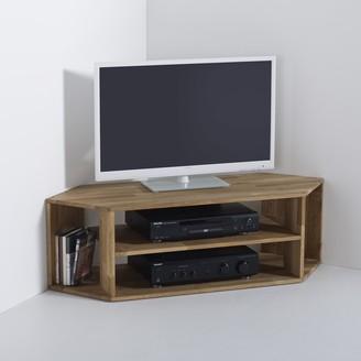 La Redoute La EDGAR Solid Oak Corner TV Unit