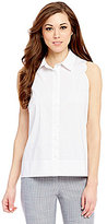Antonio Melani Bliss Point Collar Sleeveless Blouse