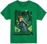 Asstd National Brand Minecraft Graphic T-Shirt-Big Kid Boys