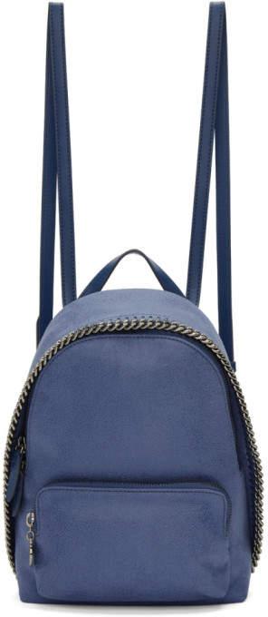 Stella McCartney Blue Mini Falabella Backpack