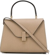 Valextra Iside leather tote bag
