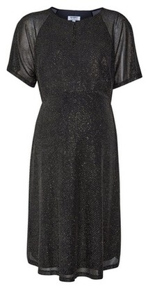 Dorothy Perkins Womens Dp Maternity Bronze Keyhole Dress