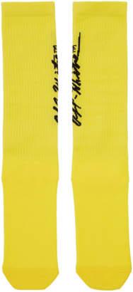 Off-White Off White Yellow Pop Socks