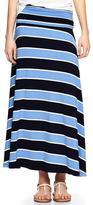 Gap Stripe foldover maxi skirt